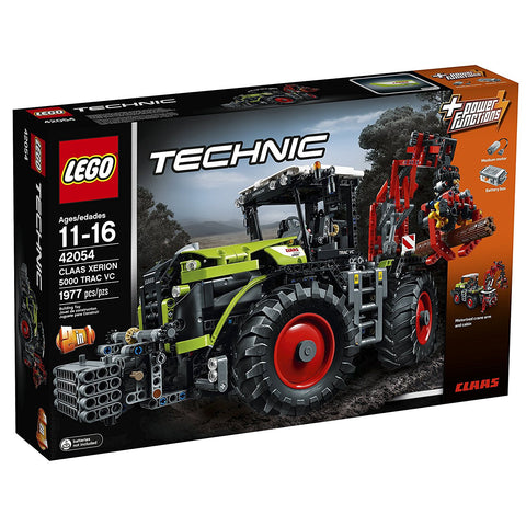 LEGO Technic CLAAS XERION 5000 TRAC VC Building Kit (1977 Piece)
