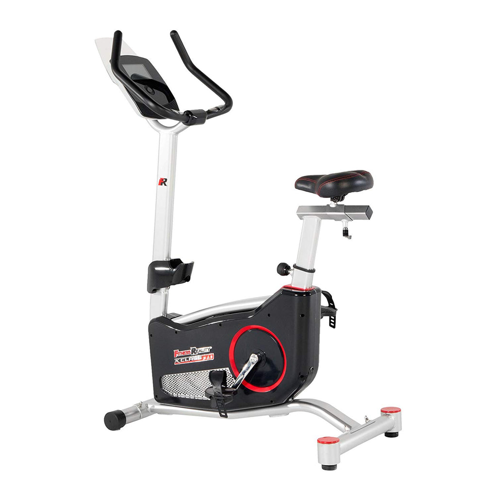 Smart Technology Upright Exercise Bike with 20 Computer Workout Programs