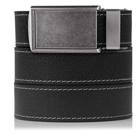 SlideBelts Full Grain Leather Ratchet Belt