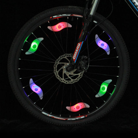 LED bike wheel lights