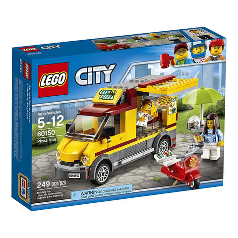 LEGO Pizza Van Building Kit