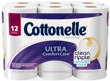Pack of 12 Cottonelle Big Roll Toilet Paper