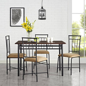 Mainstays 5-Piece Dining Set (2 Colors)
