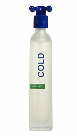 Cold By United Colors Of Benetton Eau De Toilette Spray 3.3 Oz