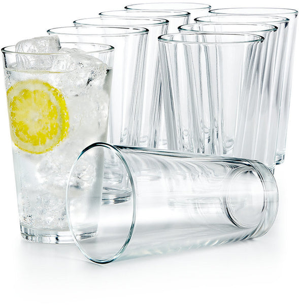 Set of 10 - 16 ounce glasses