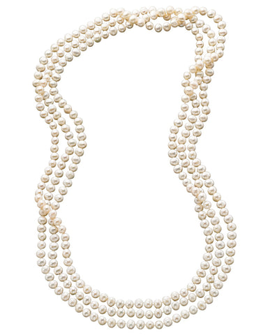 "100"" Cultured Freshwater Pearl Endless Strand Necklace"