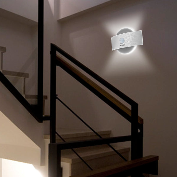 Stick Anywhere Bright Motion Sensor LED Night Light