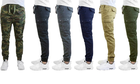 Mens stretch fit joggers