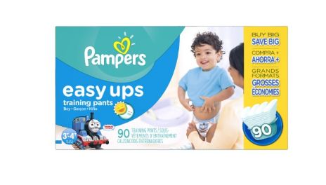 Pampers Easy Ups Training Pant Diapers