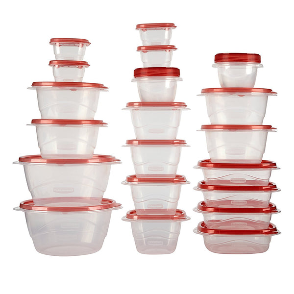 40 piece Rubbermaid container set