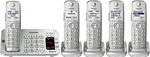 Panasonic 5 cordless handsets with answering machine