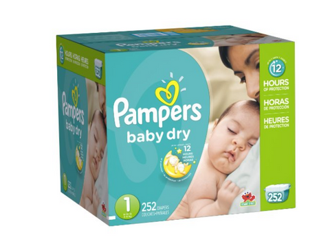 Huge Price Drop on Pampers Diapers - many sizes