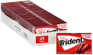 24-Pack of 14pc Trident Sugar Free Gum