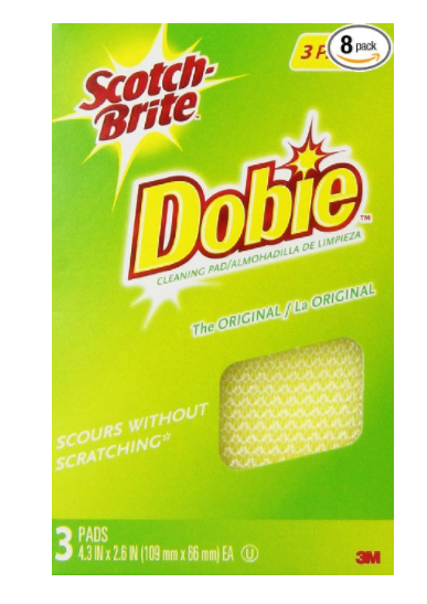 24 Scotch-Brite Dobie All-Purpose Pad