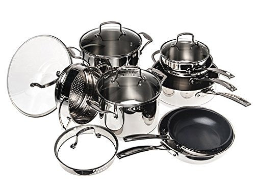 Cuisinart 13Pc Classic Stainless Steel Cookware Set
