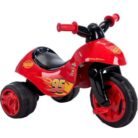 Disney Pixar Cars 2 in 1 battery or pedal power tricycle