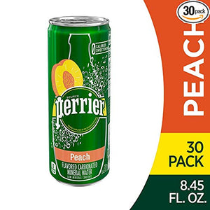 30-Pack of Perrier Sparkling Natural Mineral Water (3 Flavors)