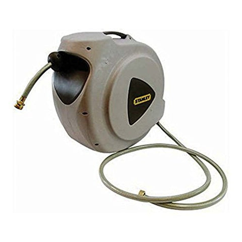 Stanley 65ft automatic hose reel with hose