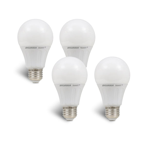 4-Pack 60W Sylvania Smart Home A19 LED Light Bulb