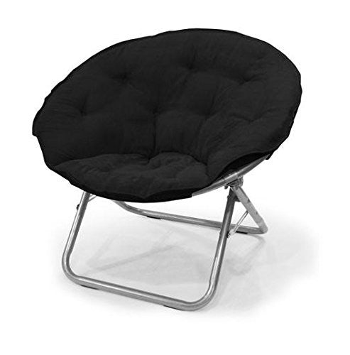 Microsuede Saucer Chair