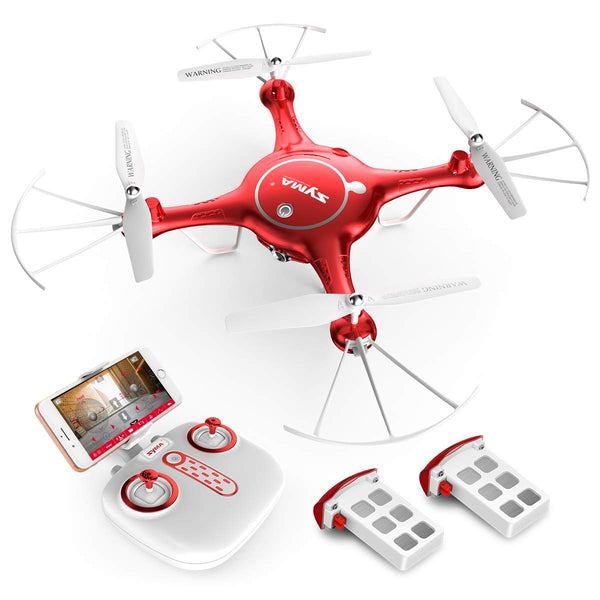 720P HD Camera Quadcopter Drone with Flight Plan Route App