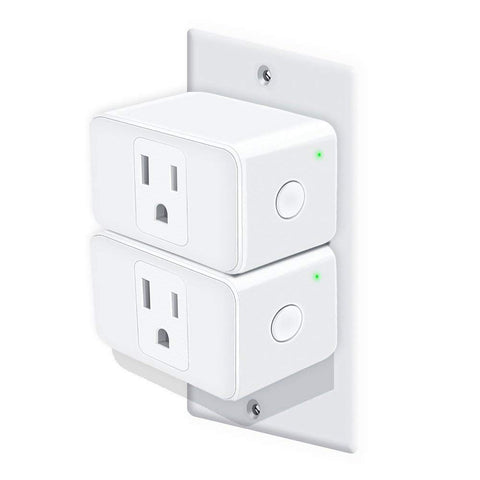 Pack of 2 WiFi smart plugs