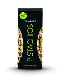 16 Ounce Bag Of Natural Raw Or Roasted and Salted Wonderful Pistachios