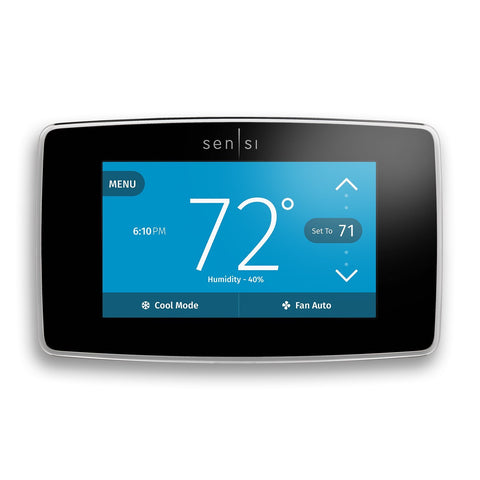 Emerson Wi-Fi Thermostat with Touchscreen Works With Alexa