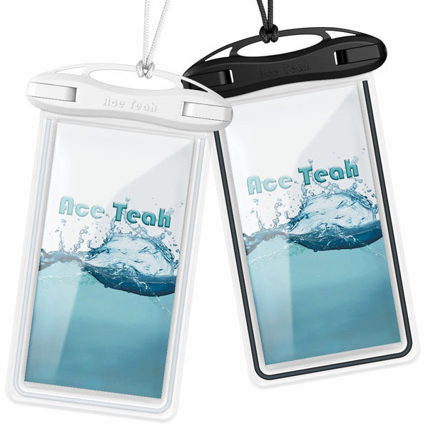 Pack of 2 waterproof cellphone cases