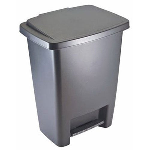 Rubbermaid step-on 8.3 gallon trash can