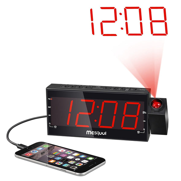 Digital Dimmable Projection Alarm Clock