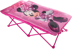 Disney Minnie Mouse Portable Slumber Cot, Pink