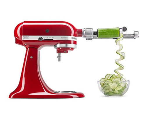 KitchenAid Spiralizer Attachment with Peel, Core and Slice