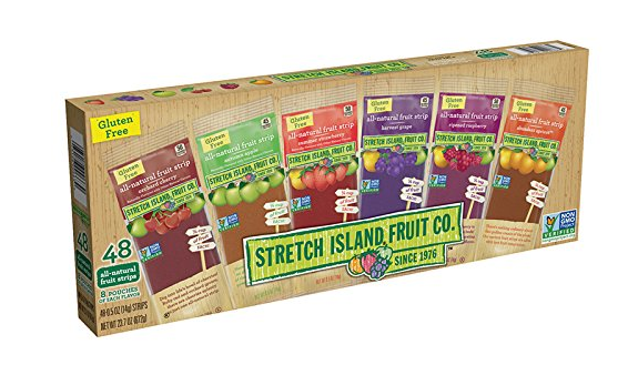 Pack of 48 Stretch Island Fruit Leather variety pack