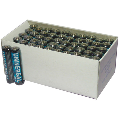 Pack of 50 AAA batteries