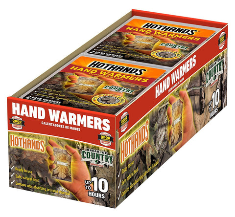 Pack of 40 hand warmers