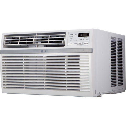 LG 8,000 BTU 115V Window-Mounted Air Conditioner