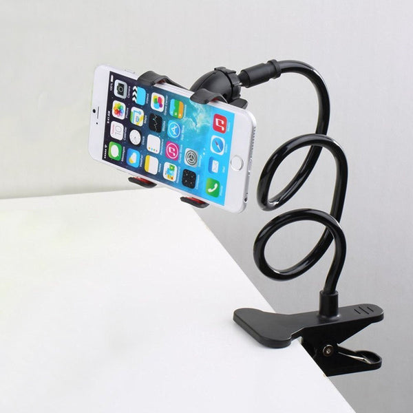 Long Arm Lazy Clip Phone Holder