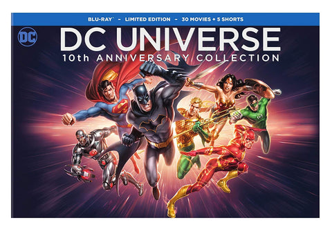 DC Universe 10th Anniversary Collection, 30-Movies