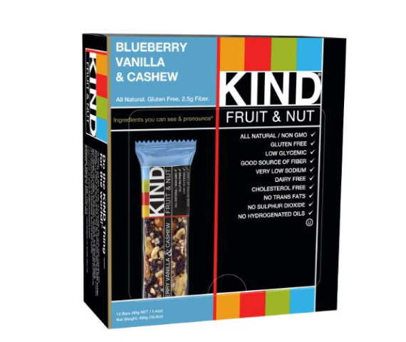 Pack of 12 KIND Bars