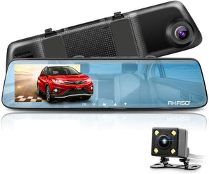 Front and Rear Dual 1080P Dash Camera With Loop Recording