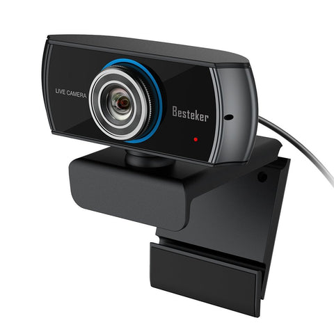 Full HD Webcam, 1080P Wide Angle Camera
