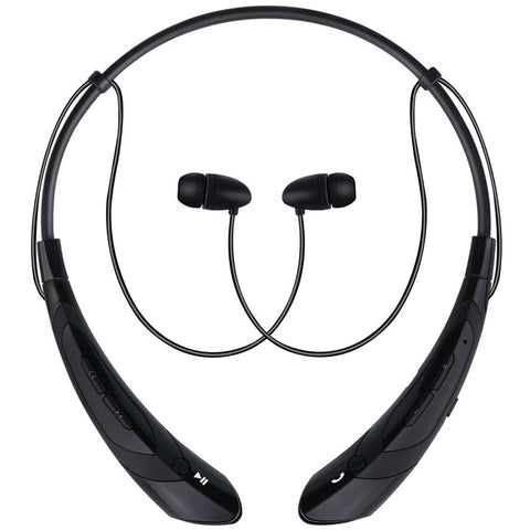 Wireless Bluetooth Neckband Headphones With Mic