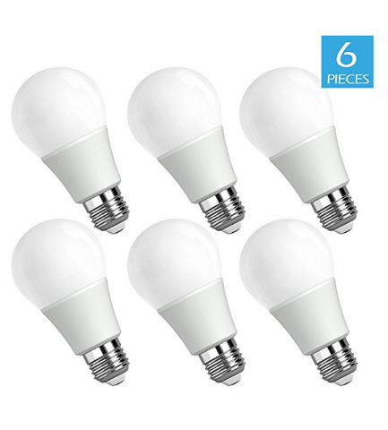 Pack of 6 LED bulbs