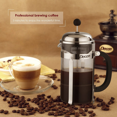 8 cup French press coffee and tea maker
