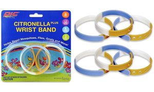 Pack Of 12, 18 Or 36 Waterproof Mosquito Repellent Wristbands