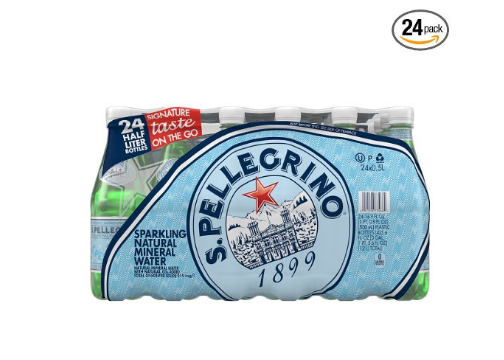 Buy 5 Packs of 24 San Pellegrino Sparkling Water get 1 FREE