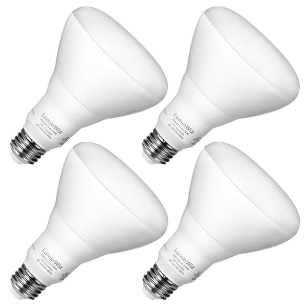 Pack of 4 dimmable LED bulbs
