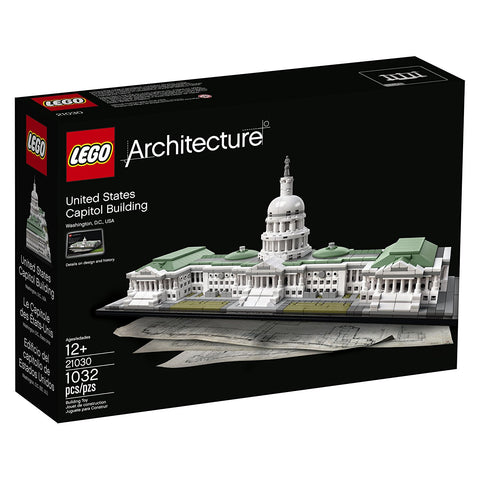 LEGO Architecture United States Capitol Building Kit