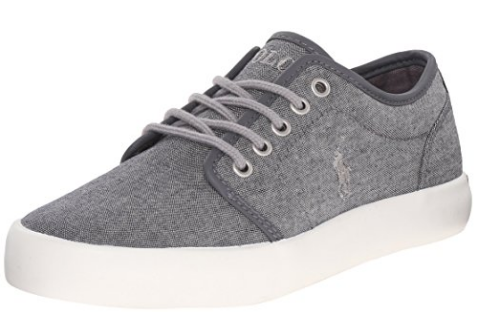 Polo Ralph Lauren kids sneakers - Grey